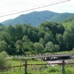 Мост через реку Сараса рядом с участком